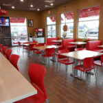 Modular restaurant interior