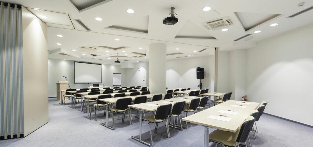 Modular classroom modern interior