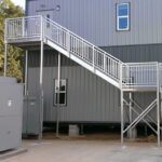 Stair for modular building