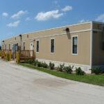 Portable modular building exterior