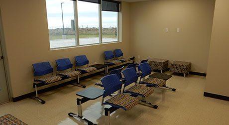 Modular office waiting room